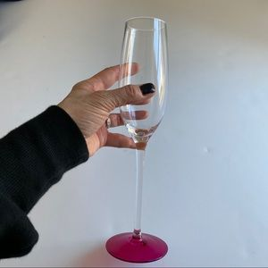 """Kate Spade """"Clink"""" Champagne Glass"""